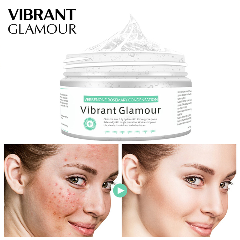 VIBRANT GLAMOURV erbenone Rosemary Condensation Blackhead Acne Remove Face Mask Deep Cleaning Whitening Moisturizing Skin Care65 in Treatments Masks from Beauty Health