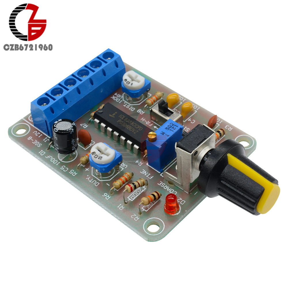 Icl8038 Function Signal Generator Kit Multi Channel Waveform 1hz Up To 22mhz By Max038 Monolithic Module Sine Square Triangle Welded