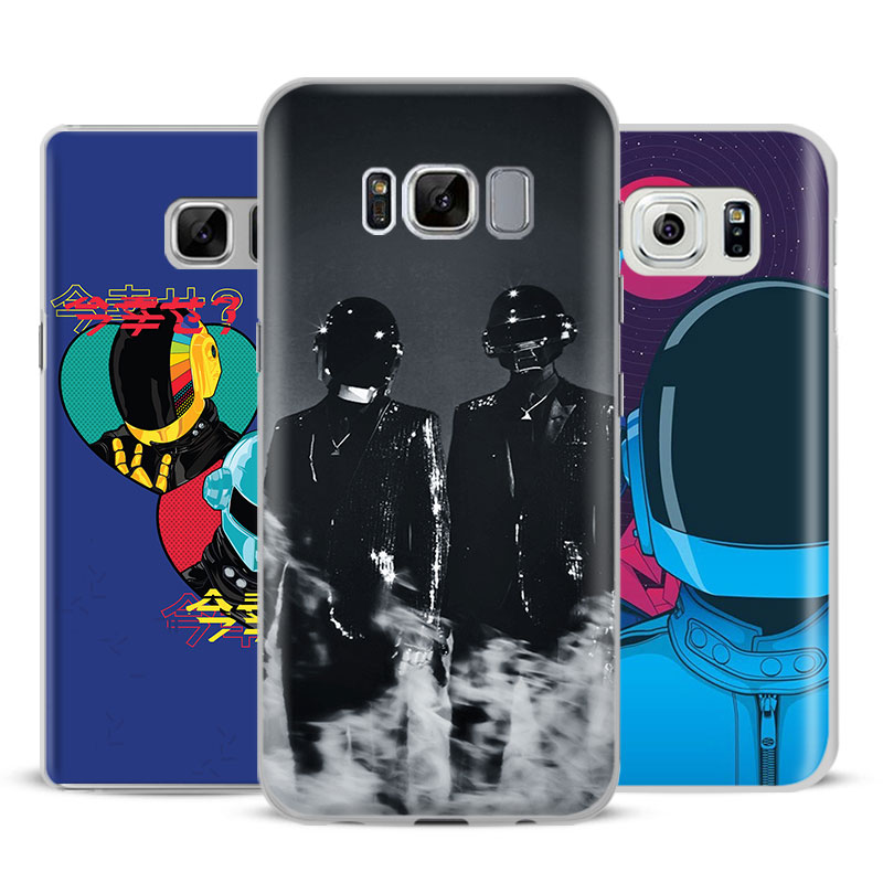 Daft Punk Fashion Coque Mobile Phone Case Cover For Samsung Galaxy S4 S5 S6 S7 Edge S8 Plus Note 8 2 3 4 5 A5 A710 J5 J7 2017