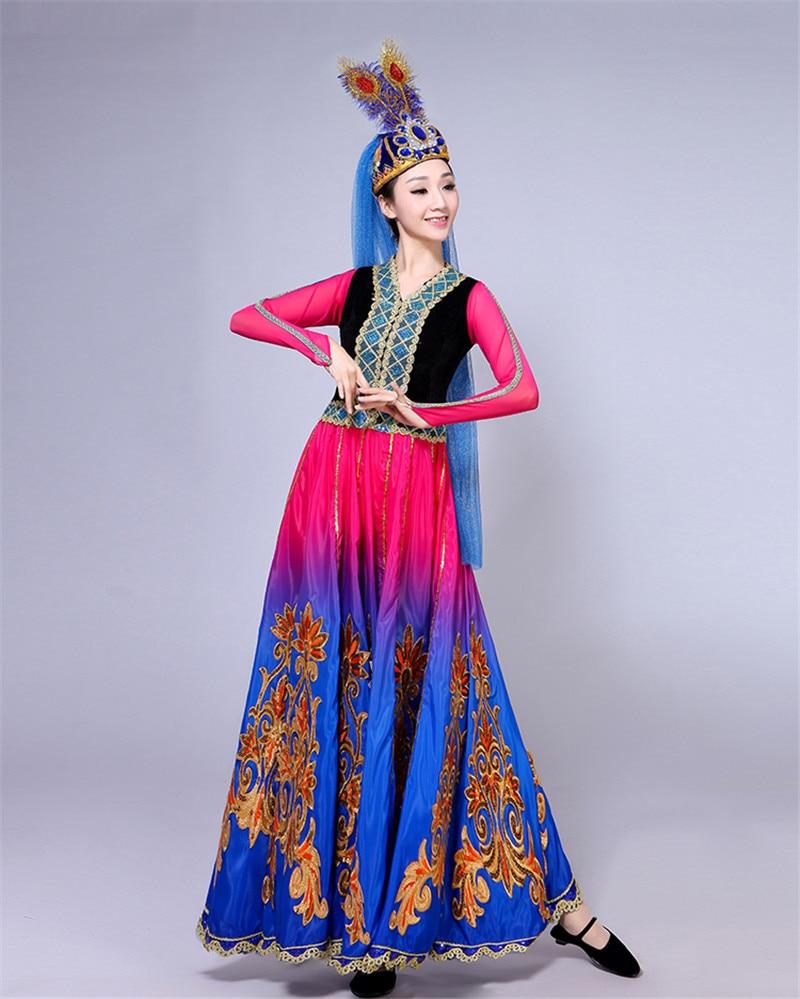 6d525f91b Xinjiang Uygur dance costume female adult new ethnic minority style ...