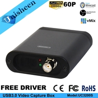 USB3 0 60FPS SDI VIDEO CAPTURE Dongle Game Streaming Live Stream Broadcast 1080P