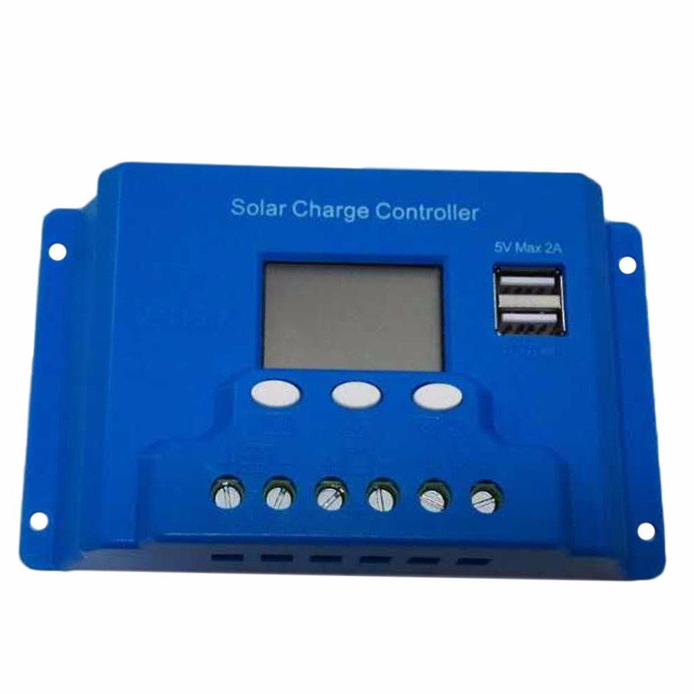 2pcs Solar Controllers  New 10A 48V TX-10BL48 Solar Charge Controller 2 USB Ports LED Display Solar Controllers  free shipping led телевизор panasonic tx 43dr300zz