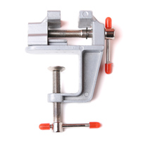 3 5 Inch Aluminum Bench Vise Small Jewelers Hobby Clamp On Table Bench Benchvise Vise Mini