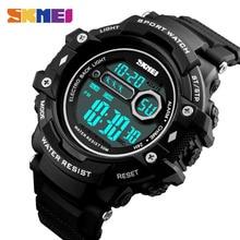 лучшая цена SKMEI Man Sports Watch Waterproof LED Military Watches Men Digital Chronograph Electronics Wristwatches relogio masculino 1325