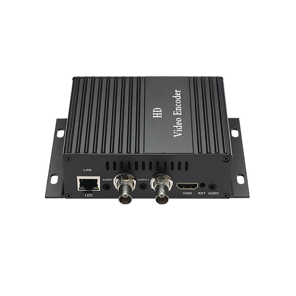 TBS2610 HD 1 HDMI 2 AV/CVB encodeur vidéo professionnel HD boîtier de codage vidéo pour diffusion en direct IPTV, enregistrement vidéo HDMI
