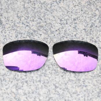 E O S spolaryzowane wzmocnione wymienne soczewki do okularów Oakley Jupiter Squared-fioletowe fioletowe lustro spolaryzowane tanie i dobre opinie Eye Opening Stuff Poliwęglan Okulary akcesoria Fit for Oakley Jupiter Squared Frame UV400 One size inches As your choice