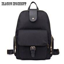 Нейлоновый рюкзак женщины опрятный мода все-матч водонепроницаемый оксфорд bagpack девушки путешествия рюкзак bookbag для подростков