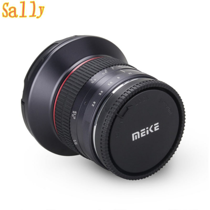 Meike 12mm f/2.8 Wide Angle Fixed Lens with Removeable Hood for Panasonic Olympus Mirrorless Camera MFT M4/3  Mount with APS-C