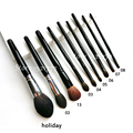 Original Quality WG goss Eyeshadow goss Brush Natural Hair Blending Brush #04 02 03 05 06 counter brush 13 highlight brush 02
