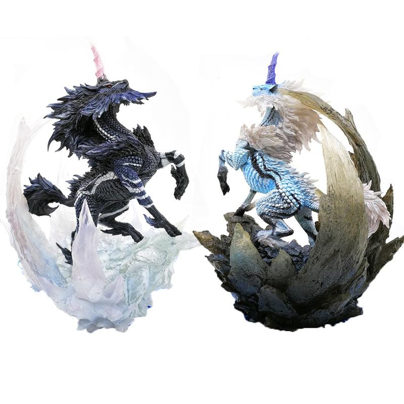 Japão monster hunter jogo modelo 2018 novo monstro caçador figuras do mundo ação dragão modelo colecionável monstro presente