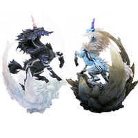 Japonia łowca potworów Model gry 2018 nowy łowca potworów figurki świata Model smoka kolekcjonerski potwór prezent