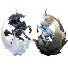 Japan Monster Hunter Game Model 2018 New World Figures Action  Dragon Collectible Gift