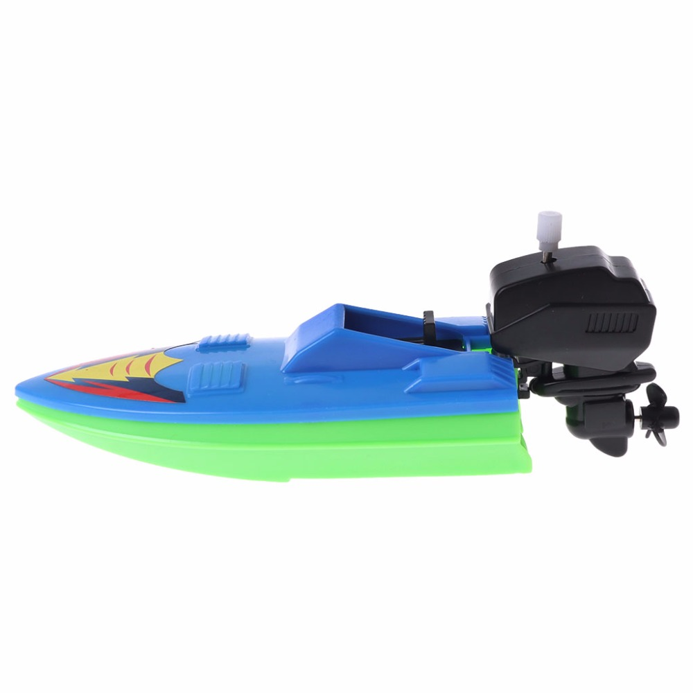 HBB Baby Toy Kid Wind Up Clockwork Boat Ship Toys Bath Toy Play ...