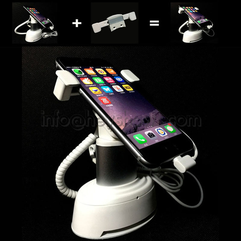 10x Mobile Phone Security Stand Cellphone Display Anti Burglar System Tablet Alarm Holder With Clamp Anti Theft For Retail Store mobile phone security stand tablet display alarm laptop burglar alarm ipad lock sensors holder retail pc anti theft device