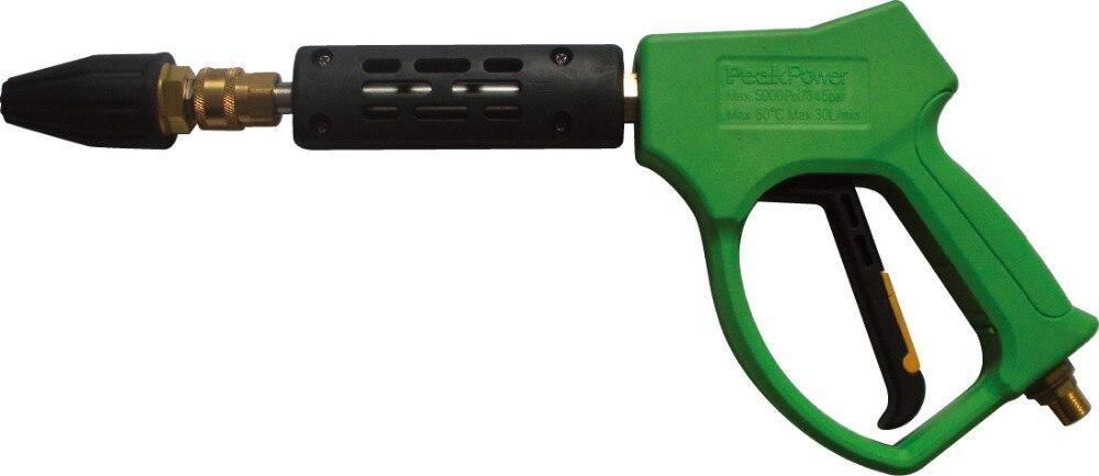 Турбо-насадка роторная насадка из 100% меди с высокой пушкой давления,вращающиеся сопла с 35мпа 350bar автомобиль шайба пистолет