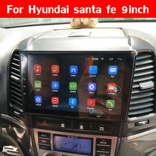 "FEELDO 9 ""pulgadas Android 8,1 coche Multimedia player GPS Navi para HYUNDAI SANTA FE 2005, 2006, 2007, 2008, 2009, 2010, 2011, 2012"