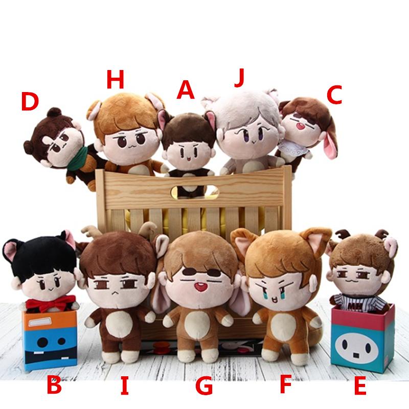 PCMOS KPOP Shinee En Peluche Poupées Un Jonghyun CLÉ Min Ho Drôle Jouets Taemin jouet poupée d'animaux Pour Enfants Femmes cadeau homme