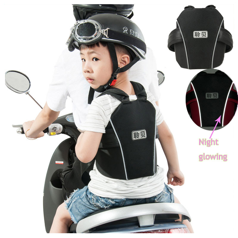 Quality Children Baby Kids Motorcycle Safety Vest Belt Carrier Electric Vehicle Bike Bicycle Child Safety Belt Strap Harness