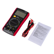 A9205B DIY Digital Multimeter AC/DC Voltage Current Resistance Capacitance Handheld Ammeter Voltmeter Power Meter Tester holdpeak hp 990c smd digital insulation tester multimeter auto power off resistance capacitance power battery insulation tester
