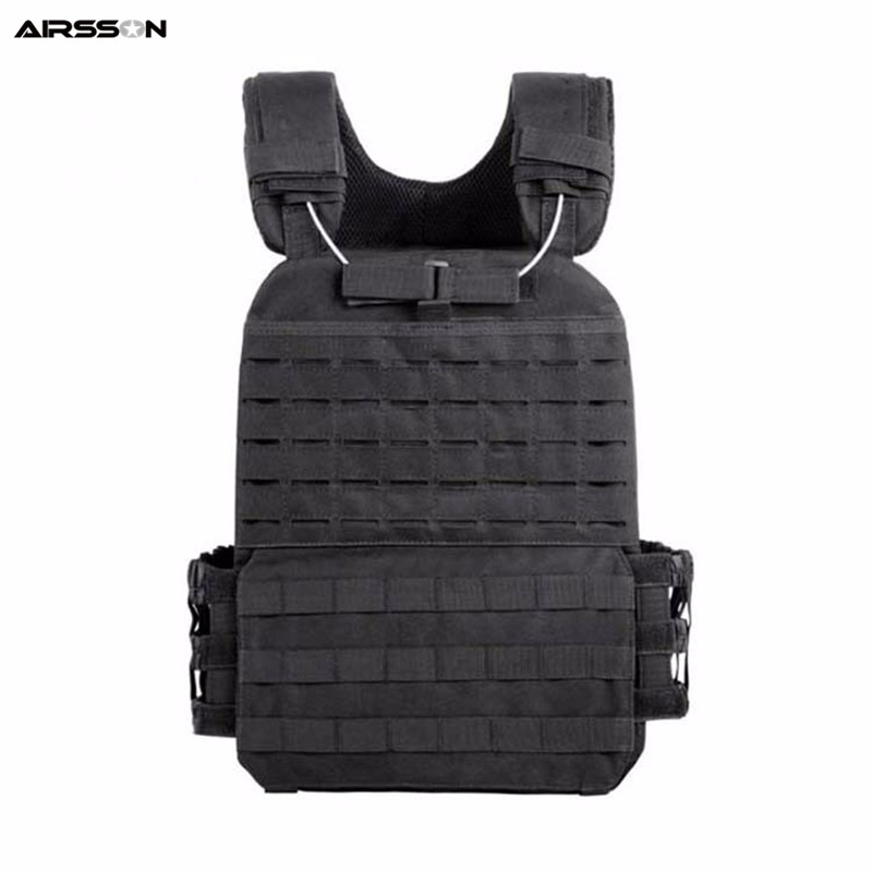 Molle Tactical Vest CS Wargame Hunting Vest Outdoor Military Body Armor Wear Airsoft Army Swat Molle