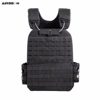 Molle Tactical Vest CS Wargame Hunting Vest Outdoor Military Body Armor Wear Airsoft Army Swat Molle Vests