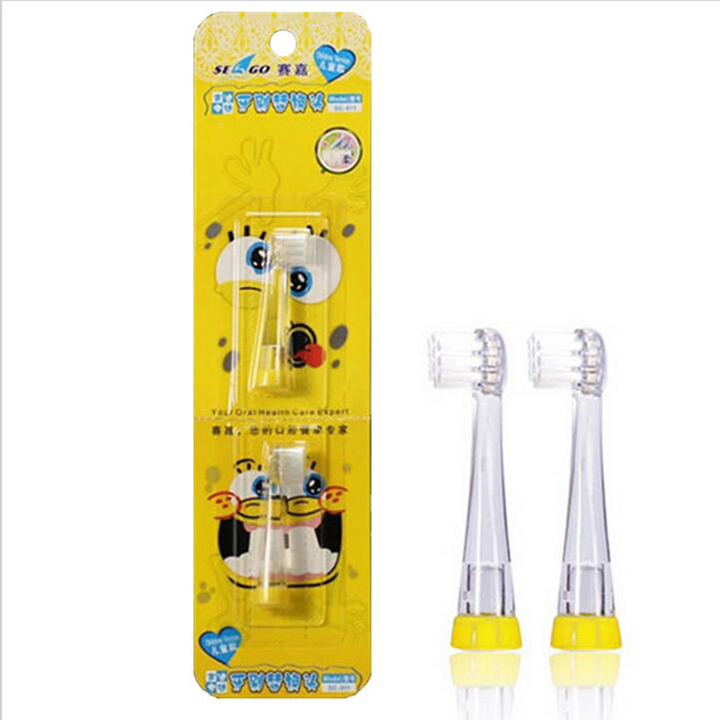 4pcs Electric Toothbrush Heads Replacement Oral Bristles Tooth brush heads wholesales for SG-602 baby toothbrush 1-3 years old 2pcs philips sonicare replacement e series electric toothbrush head with cap