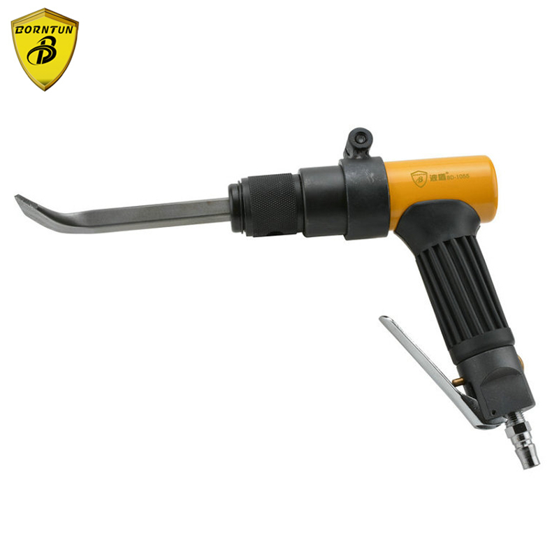 Borntun Pneumatic Air Shovel Gun Rust Remover Chisel Pickax Pickaxe Removes Metal Rust Burrs Welds Paint Scrap Clearing Removing