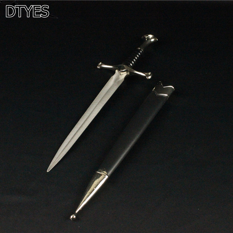 Short Small Beautiful Gift Sword Retro Decoration Little Sword European Style Stainless Steel Blade