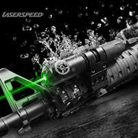 Laserspeed Shockproof Tactical Green Dot Laser Sight Scope 5mw Laser Pointer For Rifle Gun Hunting Shooting Powerful Lazer
