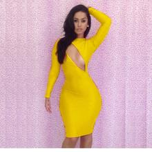 6 Colors Wholesale Club Dress 2016 Woman Clothing Sexy Autum