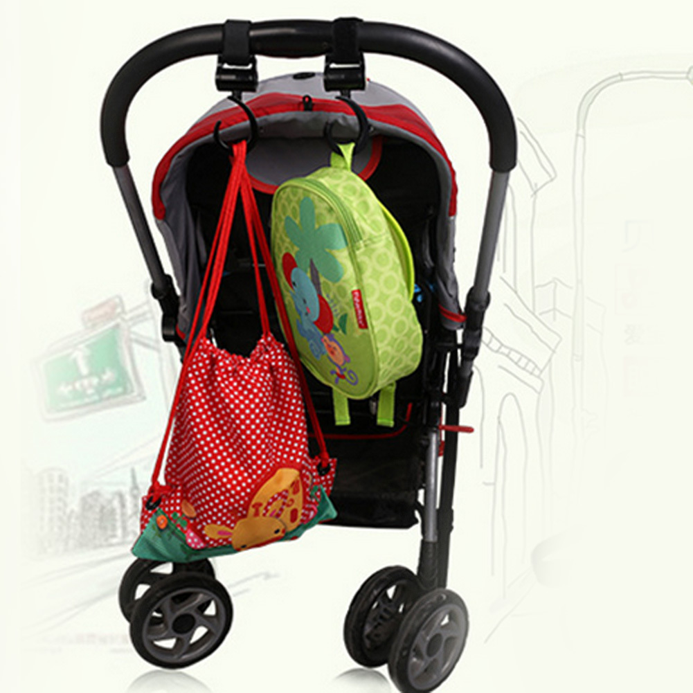Baby Bag Stroller Hooks - Beyond Baby Talk