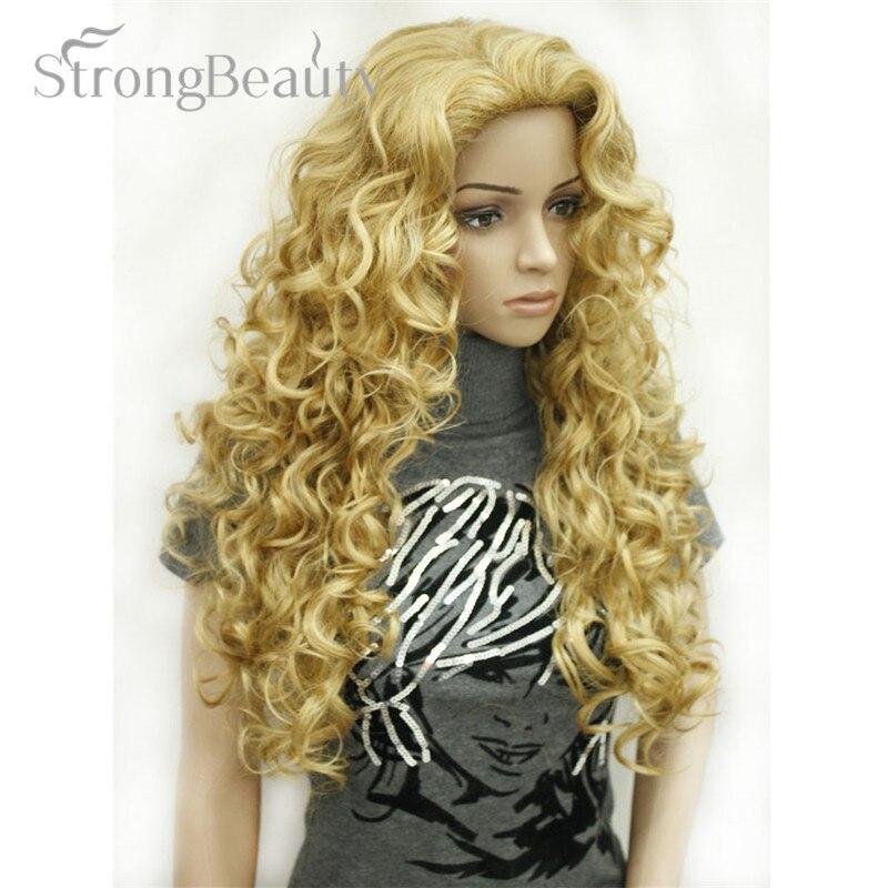 Image 4 - Искусственные волосы для женщин, светлые, золотистые, коричневые, длинные, волнистые, много цветов на выборwigs for womenwig fullwig wig  АлиЭкспресс