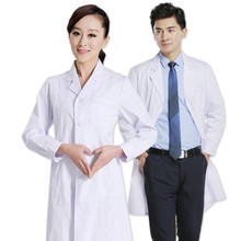 Bai Dazhao doctor male and female doctors wear long sleeves Slim pharmacy nurses wear doctors suits experimental internships