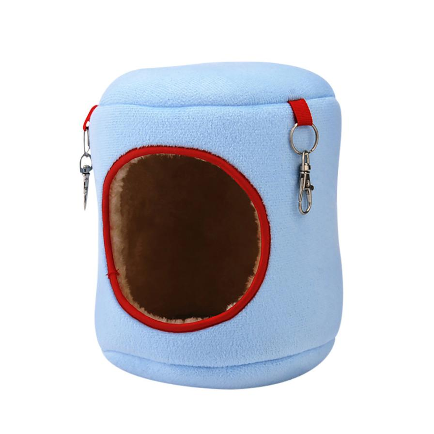 Warm Bed Rat Hammock Squirrel Winter Toys Pet Hamster Cage House Hanging Nest Toy For Hamster Pet Supplies