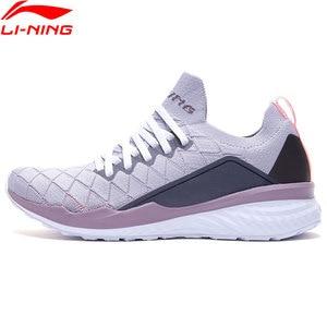 Image 2 - Li Ning Women LN CLOUD Cushion Running Shoes PROBAR LOC Breathable LiNing li ning Sport Shoes Sneakers ARHP074 XYP881