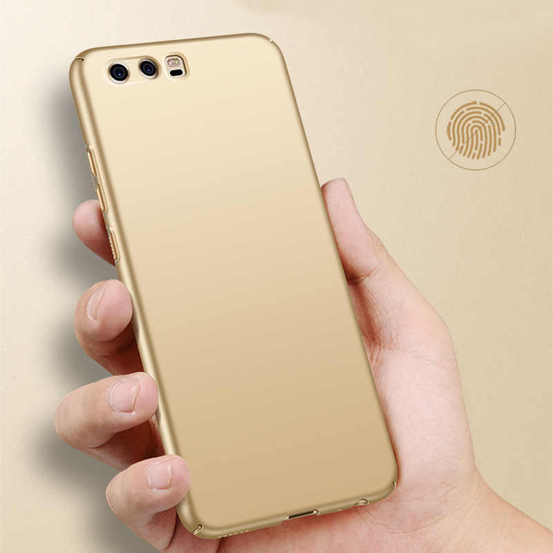 Luxury Ultra Thin 360 Full Protection Hard Frosted PC Back Cover Matte Case For HUAWEI P10 Plus P9 Lite Mate 8 9 Pro Honor V8 6X