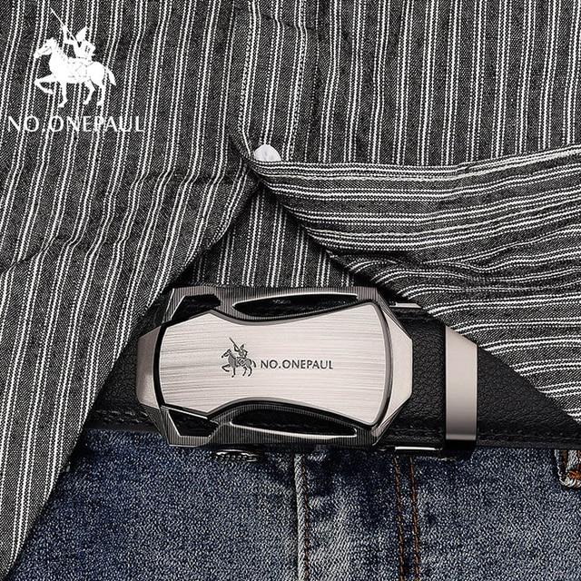 Luxury brand Male Genuine Leather Strap Belts 4