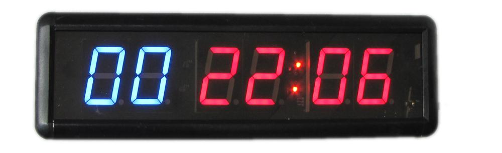 Fedex montre-chronomètre électronique 1.8 pouces   Livraison gratuite, minuterie de chronomètre de course à led de télécommande sportive