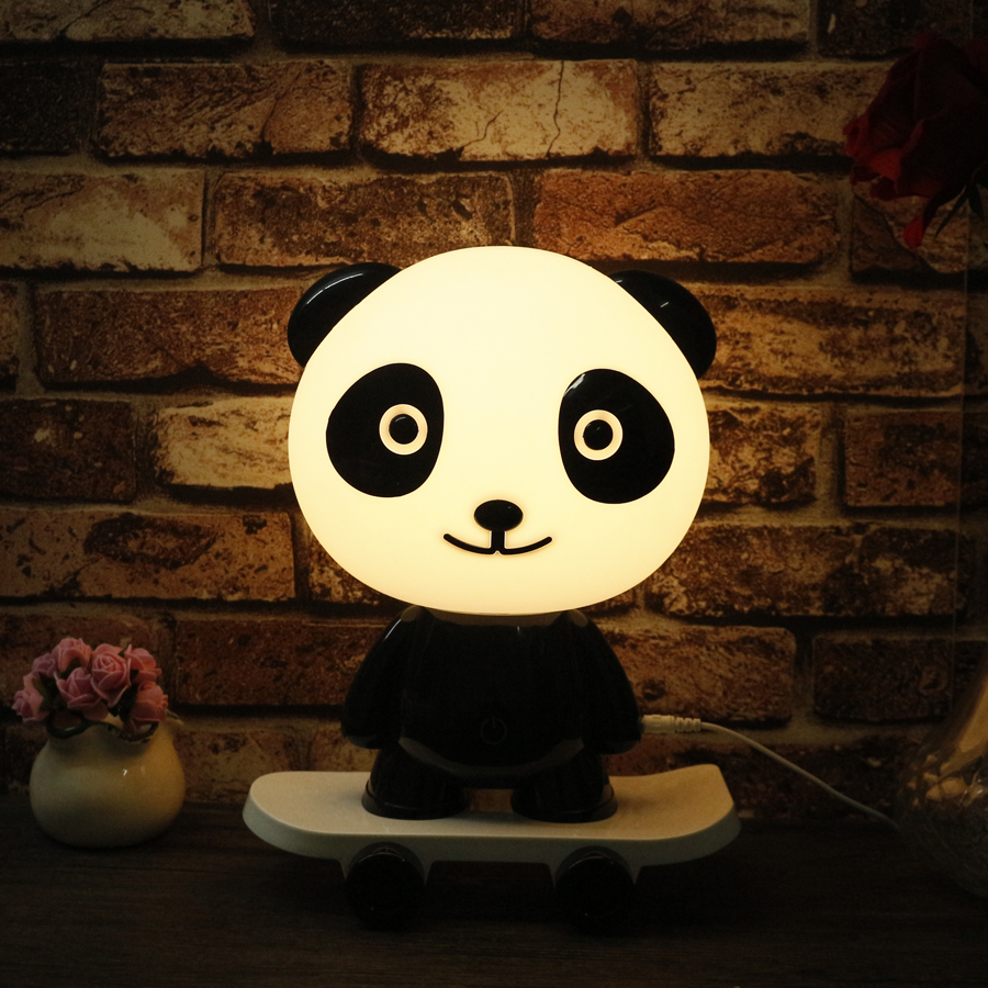 Cartoon Table lamp Rabbit Warm White LED Night Light Cute Pig Touch Night Lamps for Kids Children Bedroom Living Room Home Decor novelty smile face rainbow led night lights battery night lamps for baby room nursery living room decor kids christmas gifts