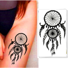M-Theory Indian Dreamcatcher Temporary Tattoos Body Arts, Flash Tatoos Stickers 12x20cm, Swimsuit Dress Makeup