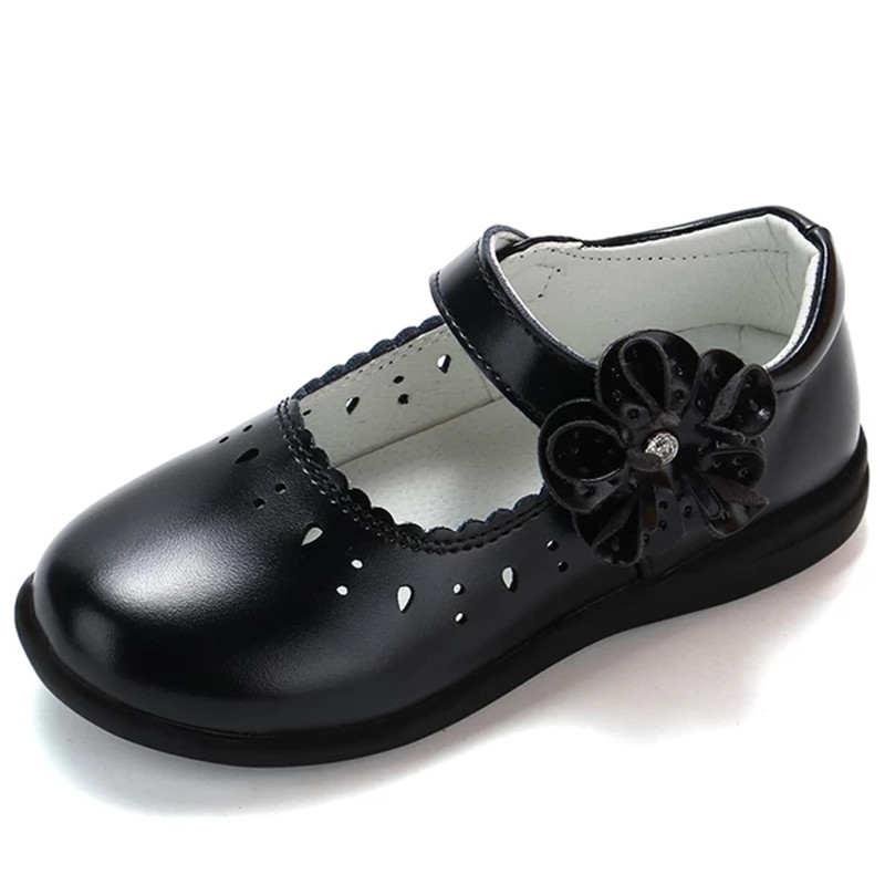Kids School Leather Shoes