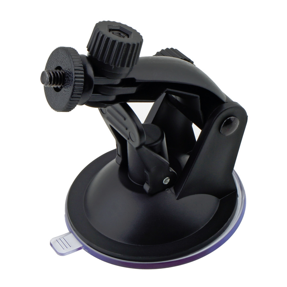 Professional Car Windshield Suction Cup Mount Holder Driving Recorder Bracket with Tripod Adapter for Gopro Hero
