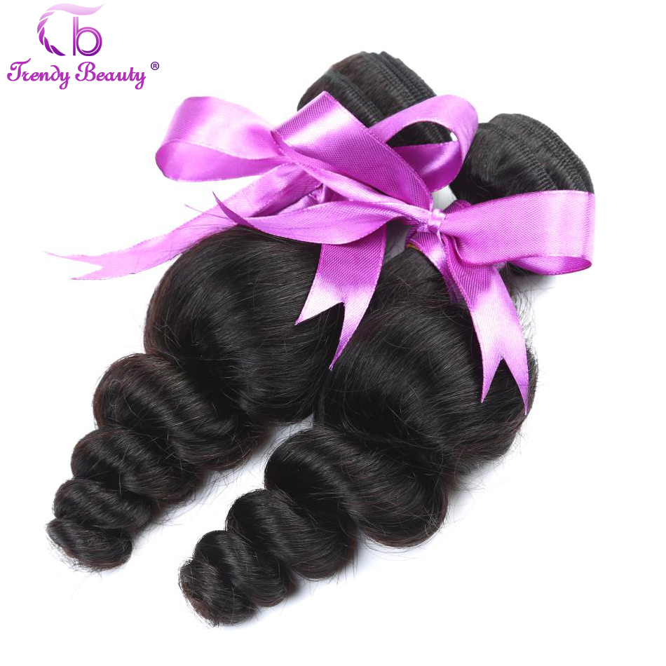 Peruvian Loose Wave Trendy Beauty Human Hair Extention 4pcs a lot Natural Black Color Non-remy 8-26inch Can buy Free Shipping
