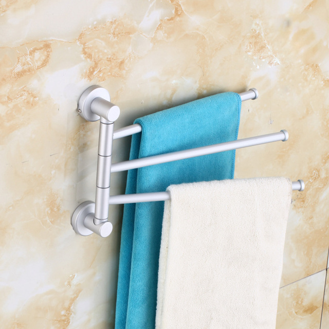 Kitchen Towel Hanger Chef Design Stainless Steel Rack Bar Rotating Bathroom Polished Holder Hardware