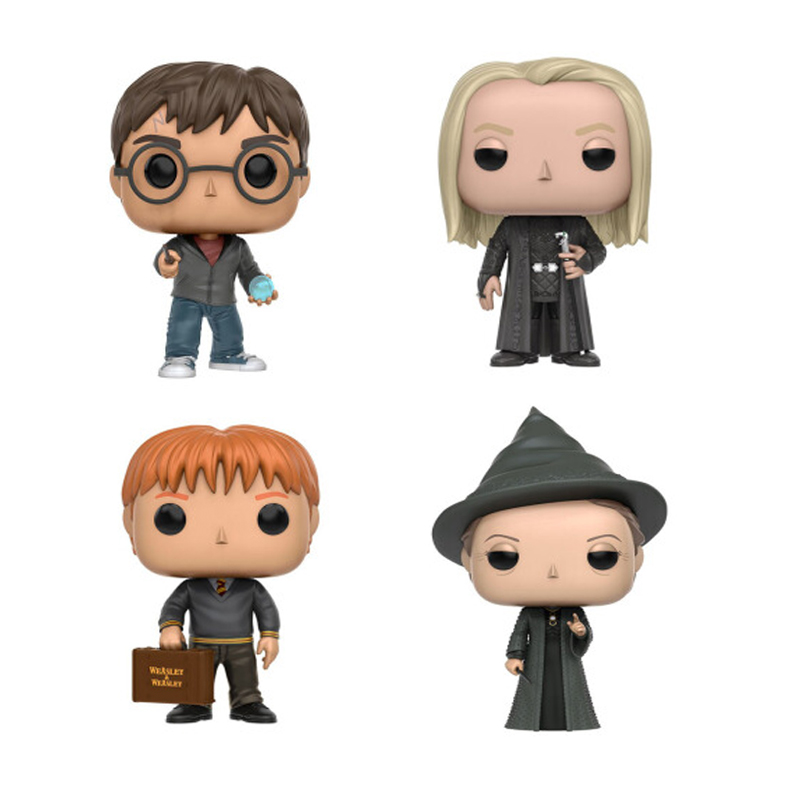 Harry Potter and The Philosopher's Stone Harry Potter Action Figures PVC Model Harry Potter Toys Birthday Christmas Gift harry potter ollivanders dumbledore the elder wand in box prop replica