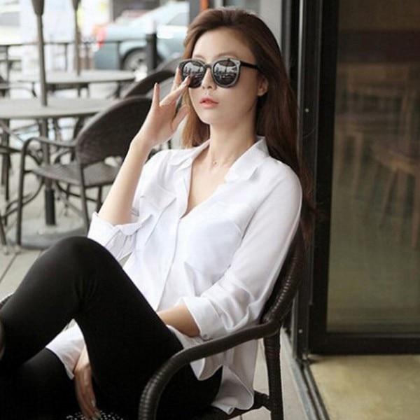 फैशन महिला ब्लाउज लंबी - महिलाओं के कपड़े
