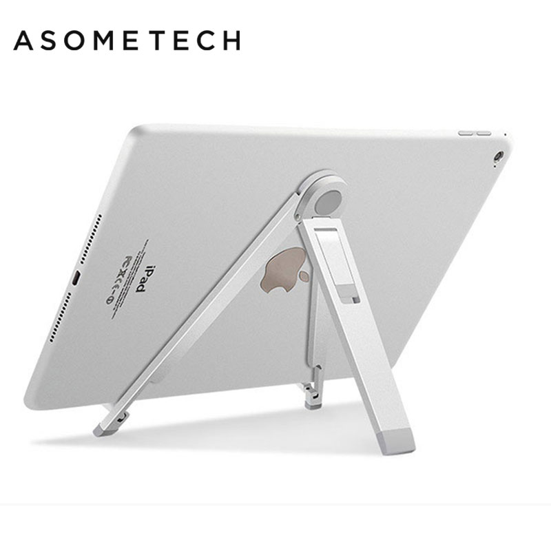 Adjustable Tripod Anti Slip Tablet Holder Stand Aluminum Alloy Support For ipad 2018 Air Pro Mipad 4 Samsung Galaxy Riser Mount|Tablet Stands| |  - title=
