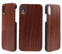 For IPhone X High Quality Wood PC Fundas Hard Cell Phone Cases For Apple IPhone X