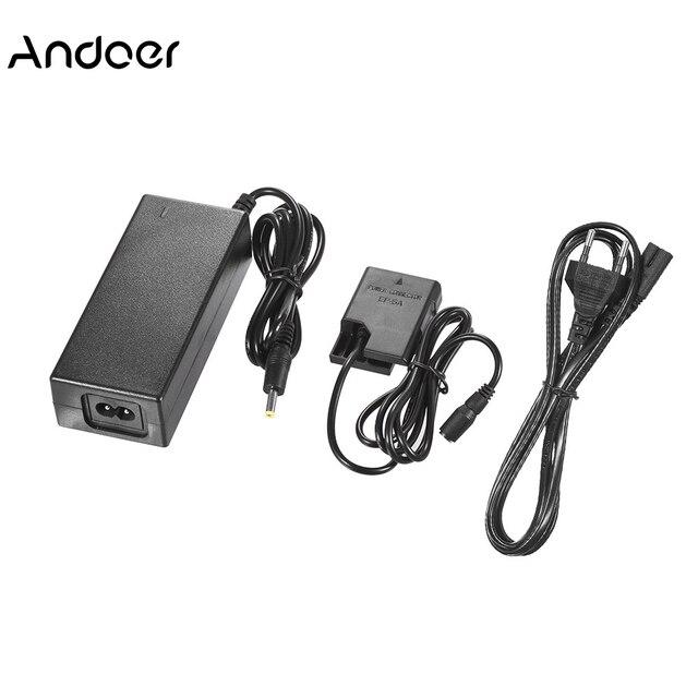 Andoer EH 5A Artı EP 5A AC Güç Adaptörü DC Çoğaltıcı kamera şarj aleti için EN EL14 Nikon DSLR kamera şarj aleti Değiştirme