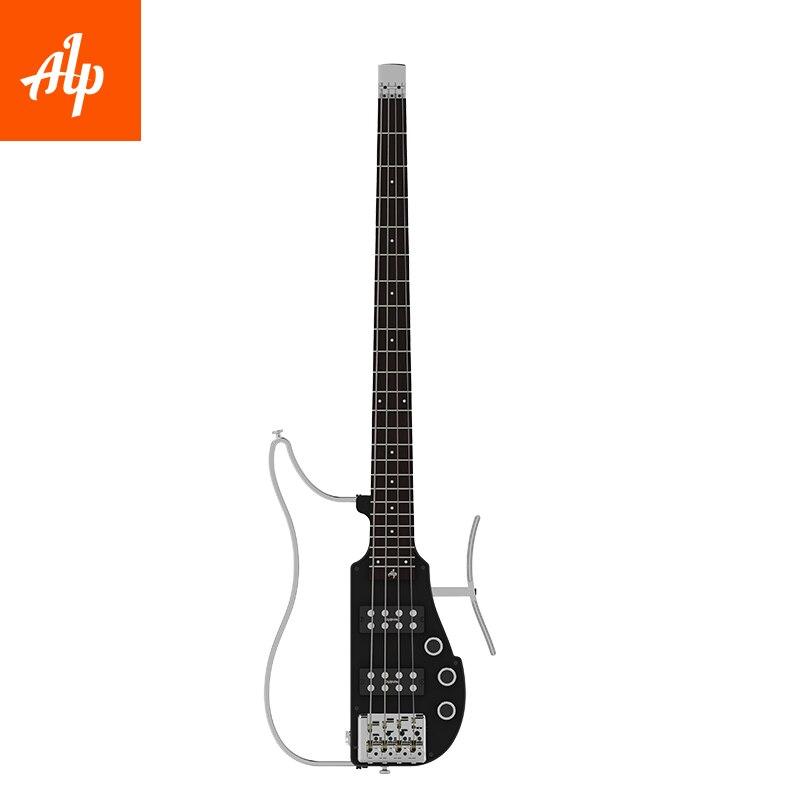 ALP-RG 101AX ALP Sans Tête Voyage Électrique Guitare pour 4 cordes basse